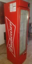 Título do anúncio: Freezer expositor cervejeiro gelopar Budweiser slim 220V super novo