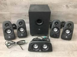 <br><br>Alto-falantes Logitech Surround Sound Z506, Alto-falante, Preto, One Size