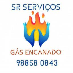 Título do anúncio: Conversão de Fogão Gás Encanado /Extensão Ponto de Gás
