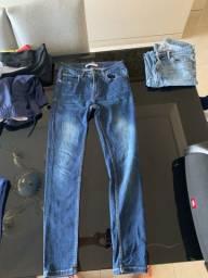 Vendo Calça jeans Zara tamanho 38.