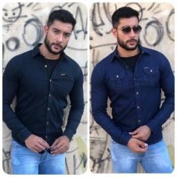 Camisa jeans e outros