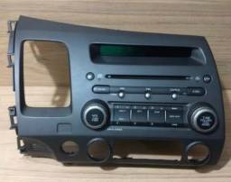 ORIGINAL Radio Som Cd Player Painel Honda New Civic 2007/2008 Original