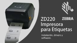 zebra zd220 nova com garantia impressora termica
