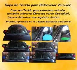 Capa Retrovisor veicular tamanhos universal diversas cores promoção atacado