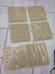 Moldes para fabricar placas de gesso