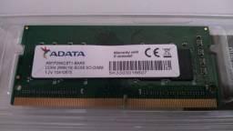 Memória Notebook 8GB Adata DDR4 2666MHz