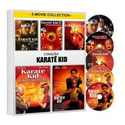 Box - Dvd Karatê Kid Hora Da Verdade 1 2 3 4 5 Pentalogia - 5 Dvd