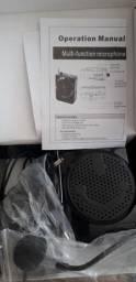 Título do anúncio: Amplificador de Voz com Microfone K-150