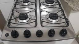 Fogão Electrolux branco 4 bocas, acendimento automático