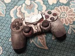 Controle de PS4 com suporte