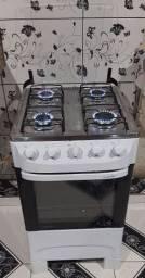 Excelente fogão Mueller de 4 bocas manual bem conservado