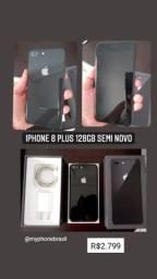 iPhone 8 plus 128gb Semi novo