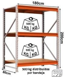 Porta Pallet / estante ( nova ) capacidade 1500kg