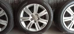 Rodas 17 originais Audi a4 com pneus novos