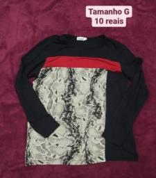 Blusinhas 10 reais