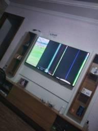 Título do anúncio: Vendo TV 55 polegadas , tela quebrou ,