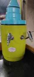 Sistema térmico para água de coco