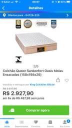 Colchão queen