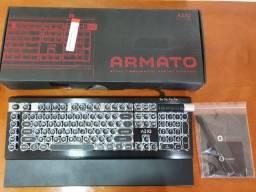 Teclado Mecânico Azio Armato 02 Classic Edition Switch Blue