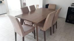 Conjunto mesa/cadeiras de jantar