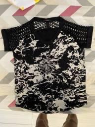 Título do anúncio: Camisa Estampada com detalhes PARGAN (P)