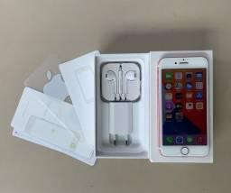 Vendo iPhone  7 32gb rose completo (aceito cartão)