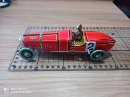 Título do anúncio: Antigo e raro carrinho a corda Bugatti