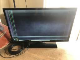 Televisão Samsung 39 - Com defeito na tela