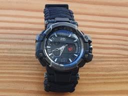 Relógio Tático 8 Em 1 De Sobrevivência Militar Paracord
