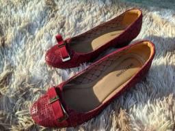 Sapato Bottero Vermelho