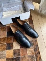 Sapato Social Masculino Brogue Huburt Preto Facirolli