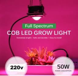 Lâmpada Led FullSpectrum, Led Grow P/ crescimento de plantas. 220v 50 w
