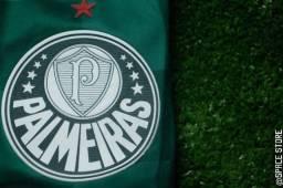 Camisa Palmeiras   2020/21   s/n° Torcedor   Patch Libertadores