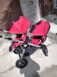 Carrinho de bebê duplo baby jogger city select