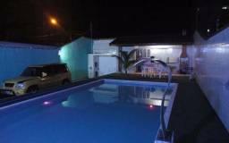 (Lorena) Casa 3/4 com piscina em praia do forte.