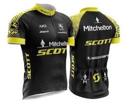 Camisa Ciclismo Bike Proteção UV 50+ Scott Unissex