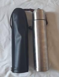 Garrafa Térmica Inox 1L