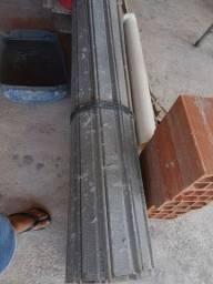 Porta de aço com batente completa