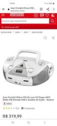 Título do anúncio: Som Portátil Philco PB126 com CD Player MP3