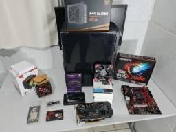 Título do anúncio: PC Gamer Ryzen 5 3600 - GTX 1060 - 8 ou 16GB