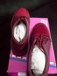 Calçado Casual Feminino Actvitta Novo na caixa