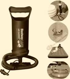 bomba Inflador Manual De Ar 30cm Bestway Colchão Inflável Piscina balões etc