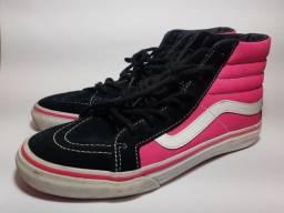 Tênis Vans Sk8 Hi Pink Version 36