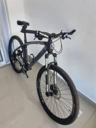 Caloi Elite Carbon 2017 Quadro 19 - Troco por carro ou moto