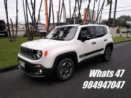 Jeep Renegade Sport 1.8 Flex, Manual, 2ª Dona, 50000km, Impecável, 2017 *veja a descrição