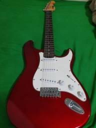 Guitarra Memphis + amplificador