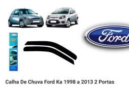 Calha para Ford ka 2 portas