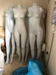 Manequins de plástico