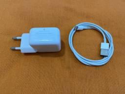 Carregador 10W iPad iPhone 100% original Apple