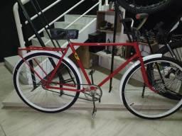 "Bicicleta antiga aro 28, famosa "" Rabo de pombo"""